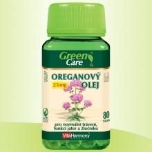 OREGÁNOVÝ OLEJ 25 mg - 80 tob.  Vita Harmony