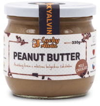 PEANUT BUTTER  MILK CHOCOLATE 330g Lucky Alvin