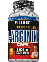 L - ARGININE 100 kapslí Weider