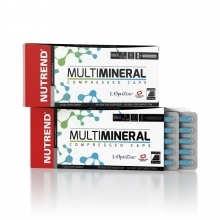MULTI MINERAL COMPRESSED CAPS 60kapslí Nutrend