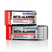BETA-ALANINE COMPRESSED CAPS 90kapslí Nutrend