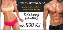 Dárkový poukaz 500,- Fitness Produkty