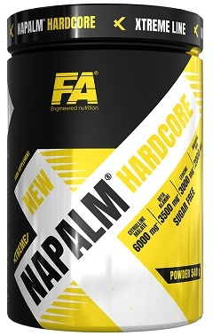 XTREME NAPALM HARDCORE 540G FITNESS AUTHORITY
