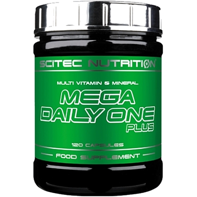 MEGA DAILY ONE PLUS  120cps Scitec Nutrition