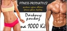 Dárkový poukaz 1000,- Fitness Produkty