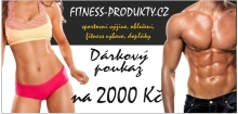 Dárkový poukaz 2000,- Fitness Produkty